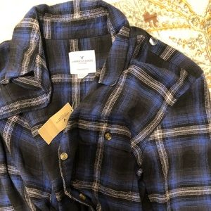 womens oversized fit flannel